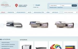 Irodatechnikai webáruház